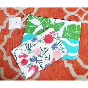 Kate Spade Zipper Blossom Pouch & Cosmetic Bag